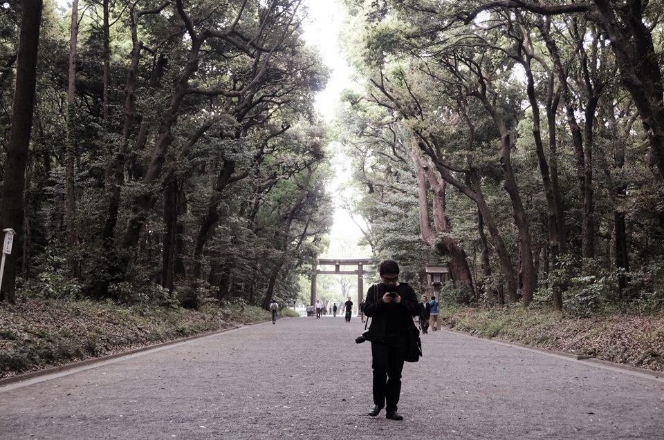 meiji shrine garden